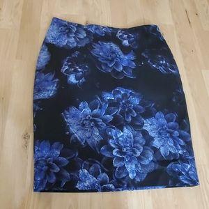 Adorable floral print skirt
